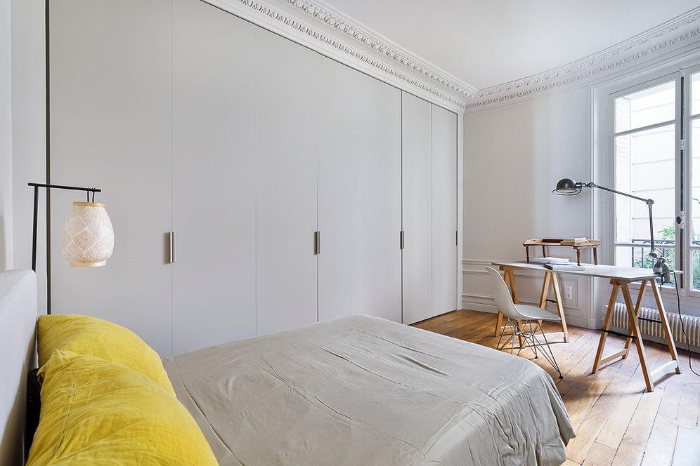 REVERS Atelier d'architecture I Rénovation appartement haussmannien I Paris I Suffren I photos Thibault Pousset I 07