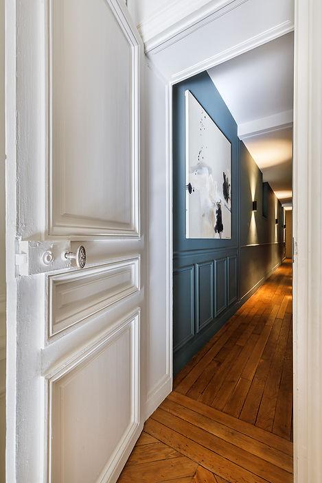 REVERS Atelier d'architecture I Rénovation appartement haussmannien I Paris I Suffren I photos Thibault Pousset I 09