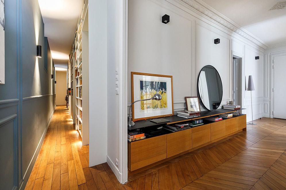 REVERS Atelier d'architecture I Rénovation appartement haussmannien I Paris I Suffren I photos Thibault Pousset I 10