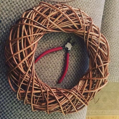 Blank Open Weave Wreath / Woven Garland