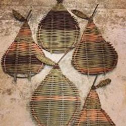 Pear shaped platters