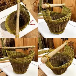 Spiral Willow basket