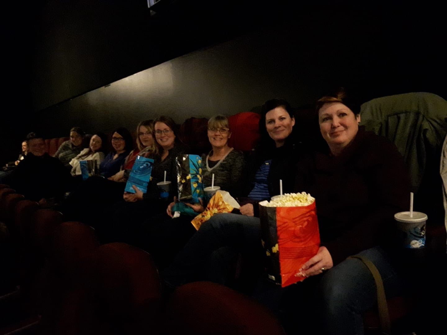 Mum's Night Out (at the movies)