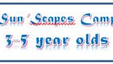 Sun 'Scapes Camp (Sports 3-5yrs) Jul 27. - Tuesday 9:00am