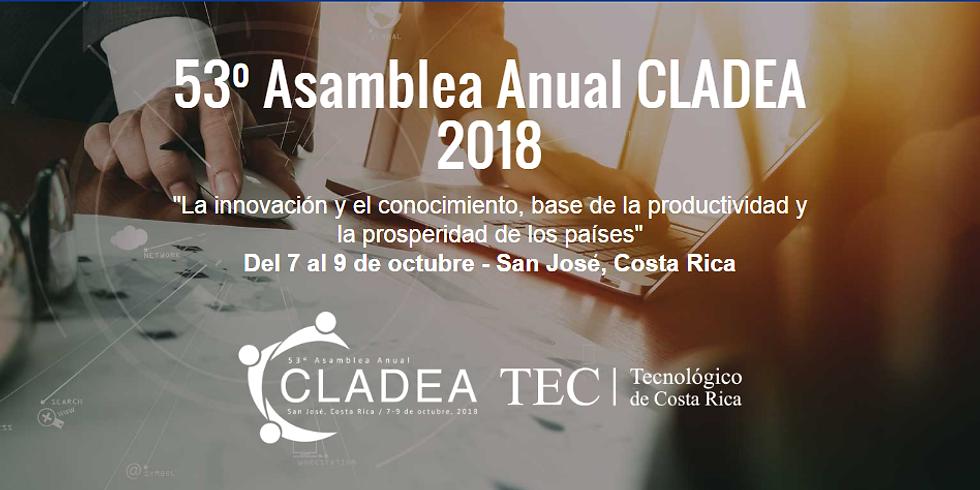 53ª Asamblea Anual CLADEA 2018