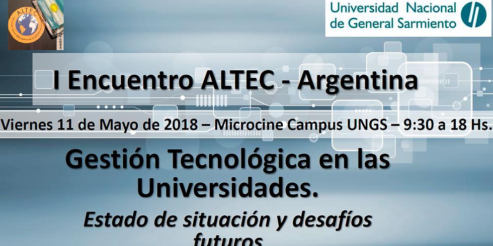 I Encuentro ALTEC - Argentina