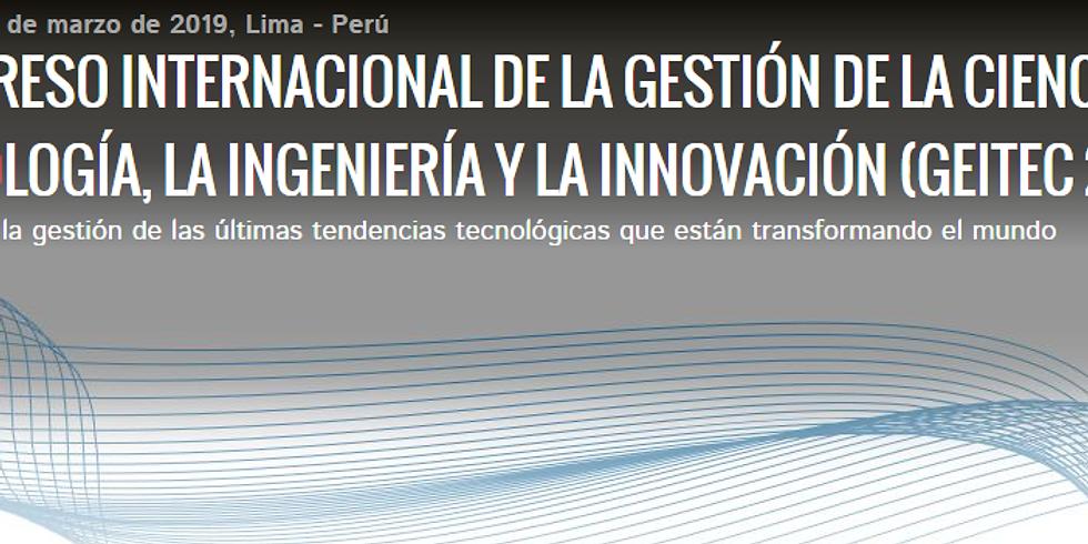 Congreso Internacional GEITEC 2019