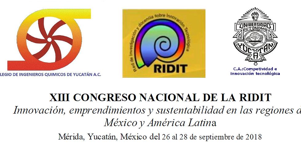 XIII Congreso Nacional de la RIDIT