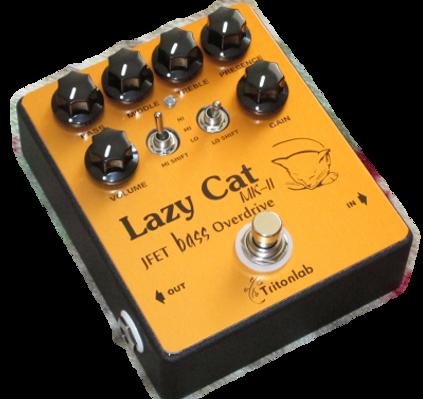 Lazy Cat MK-II jFET bass overdrive