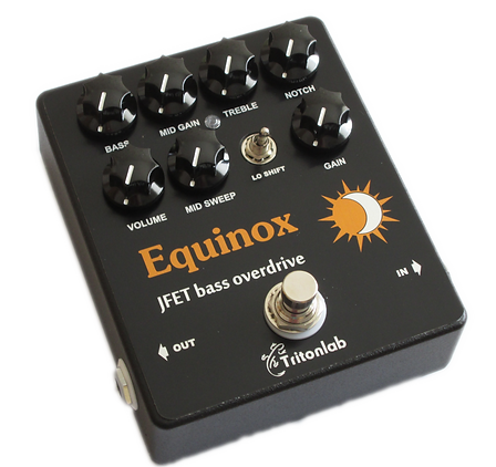 Equinox-Handmade awesome bass overdrive