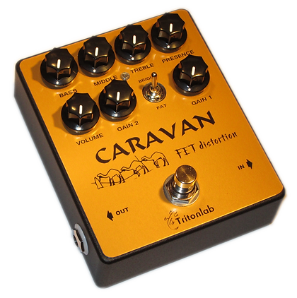 Caravan distortion