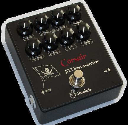 Corsair jFET bass overdrive