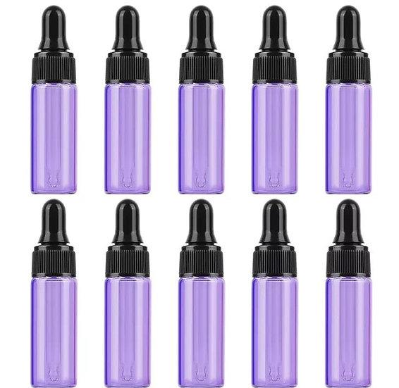 10 x 5mL Dropper Bottles