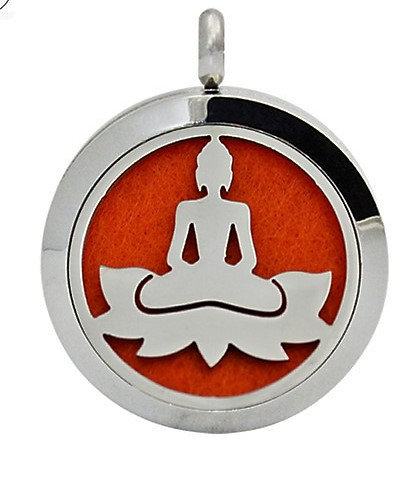 Essential Oil aroma Necklace Buddah