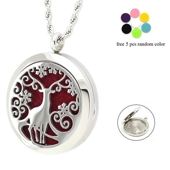 Essential Oils  aroma Necklace Stag