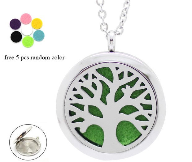 Essential Oil aroma Necklace Tree