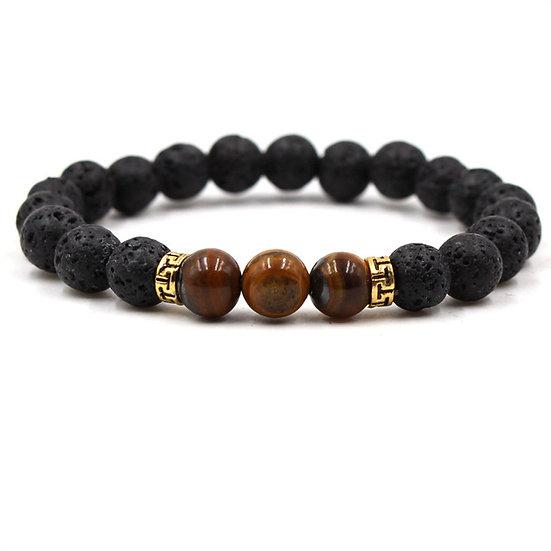 Essential Oil Bracelet.Brown