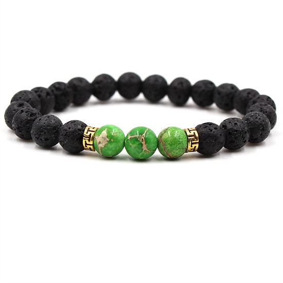 Lava bead bracelet and doTERRA Essential OilLavender