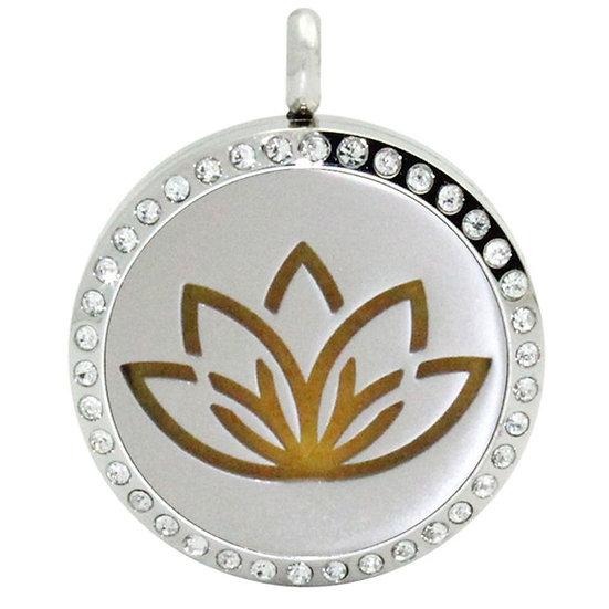 Diamante Lotus necklace