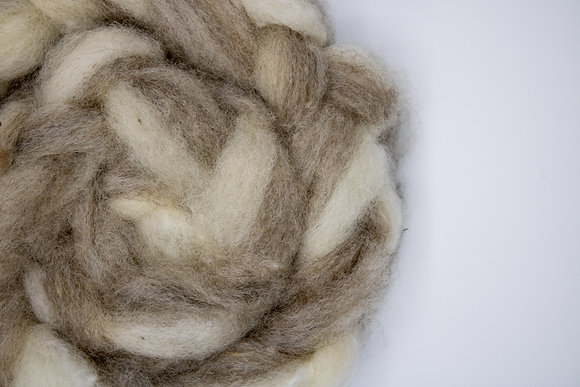 """""""Lavender & Lace"""" Finnsheep Roving - sold by the ounce"""