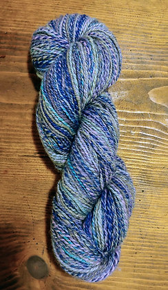 Handspun wool and faux cashmere blend