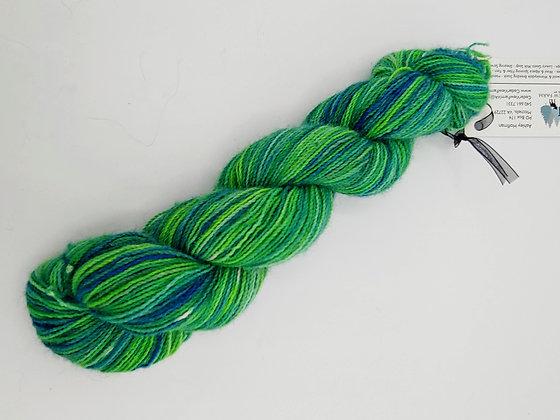Blue & Green Alpaca Yarn
