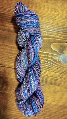 Handspun wool and firestar blend