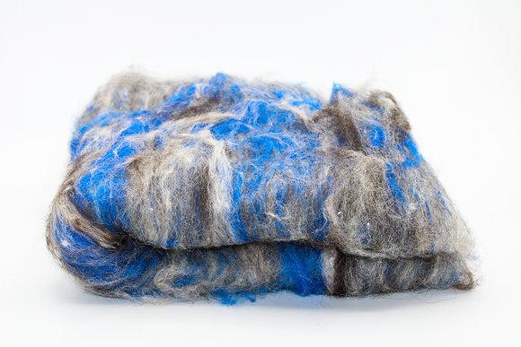 Finnsheep, Alpaca & Silk Batt