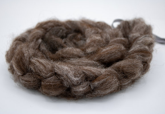 """""""Purple Rose"""" Alpaca Roving - sold by the ounce"""