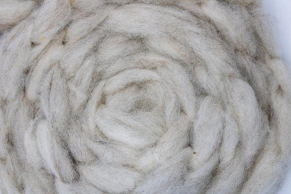 """Birch Bark"" Finnsheep/Alpaca Roving - sold by the ounce"