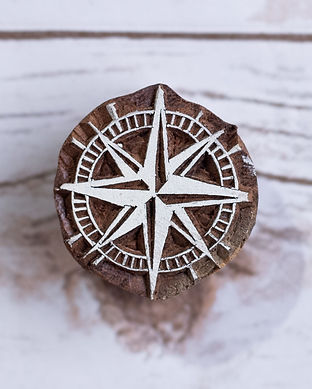 Unique  Handmade Wooden Block Stamps for scrapbooking and crafts