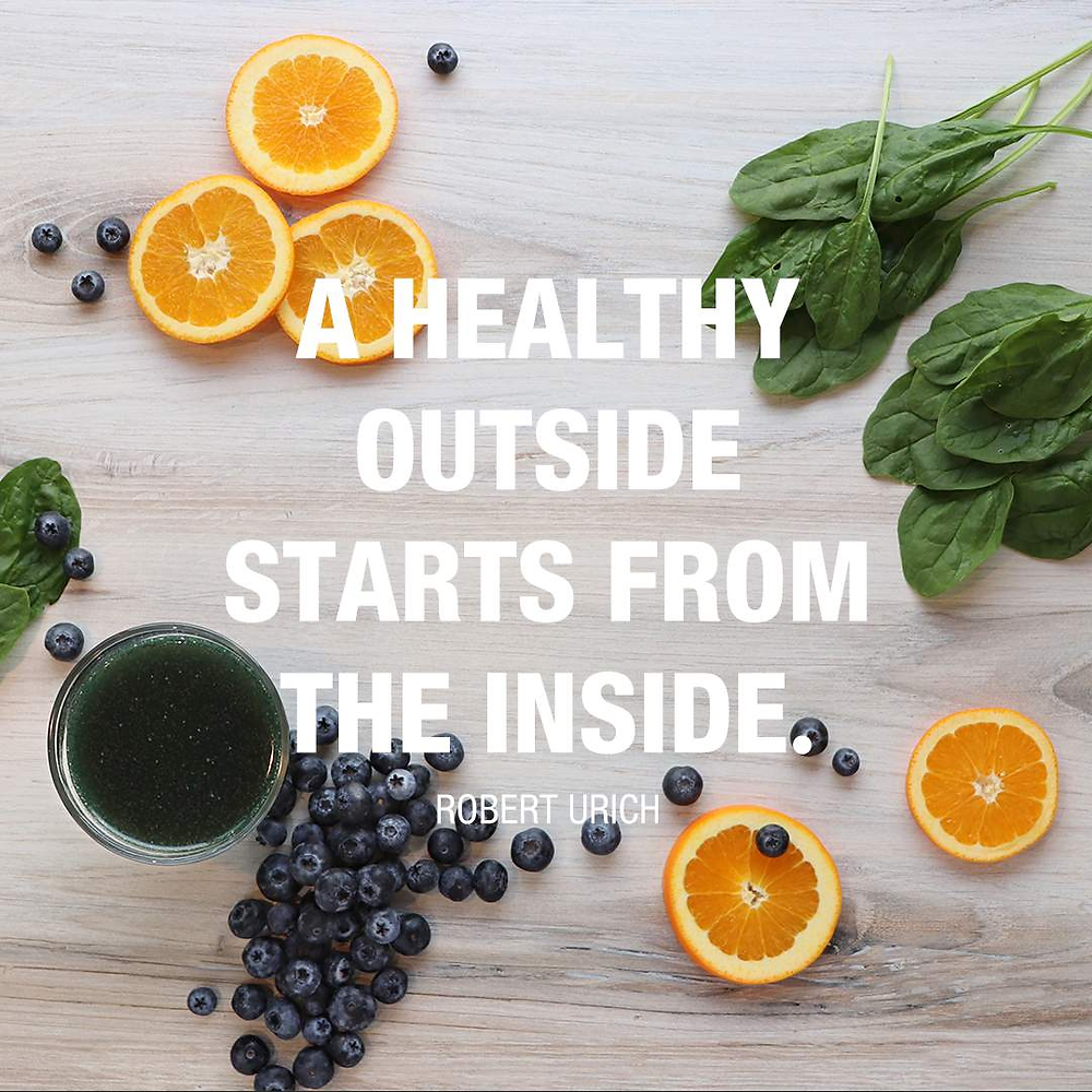 A healthy outside starts from the inside.