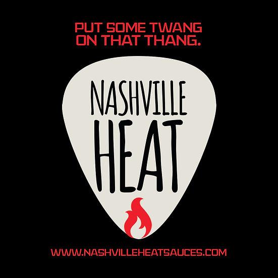 Nashville Heat Sticker