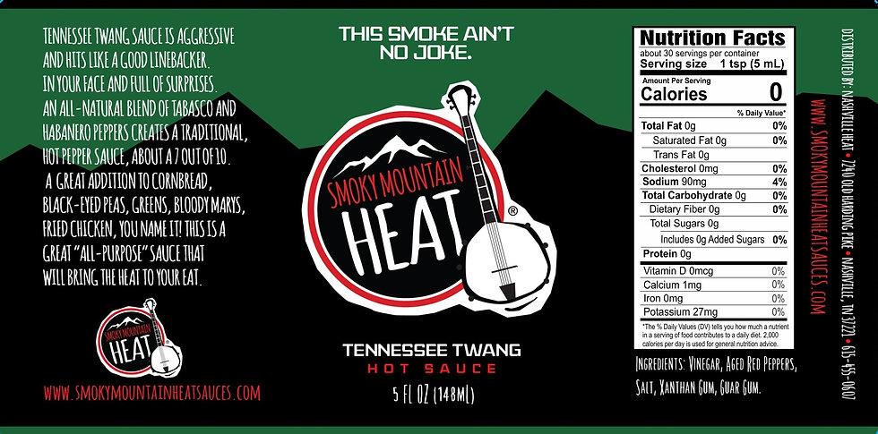 Smoky Mountain Heat Tennessee Twang Sauce Casex12