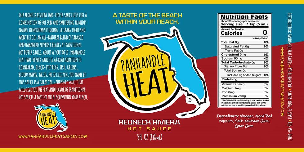 Panhandle Heat Redneck Riviera Two Pepper Sauce Casex12