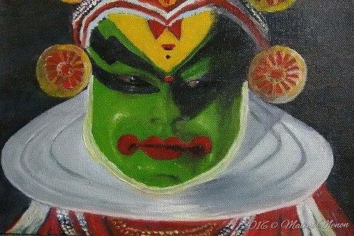 Kathakalli Artist