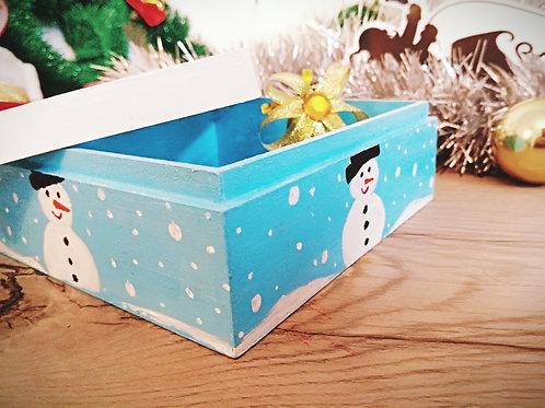 Snow man Chocolate box