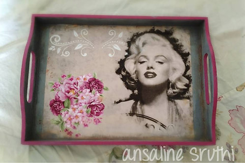 Maryln Monroe serving tray