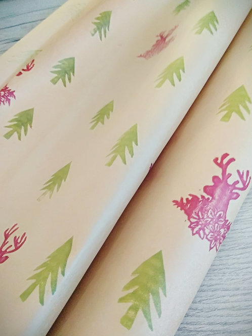 Reindeer Gift wrapping paper