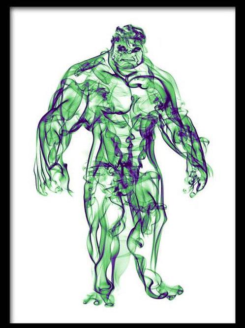 Smoke Portrait-Hulk