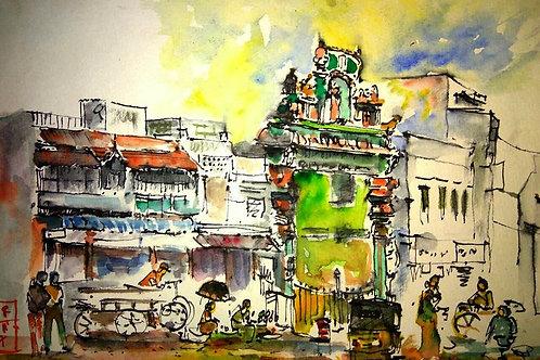 Kothavaal Chavadi Market-Chennai