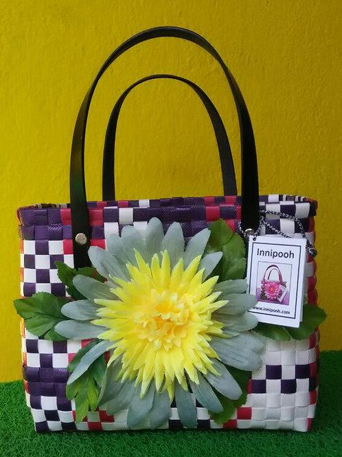 Medium Embellished Basket