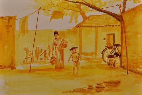 Village Scene 3