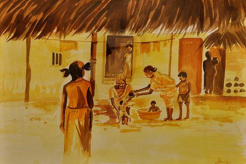 Village Scene 8