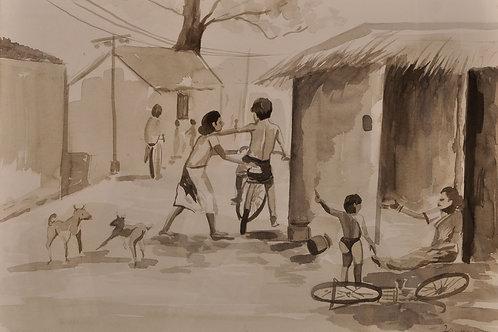 Village Scene 6