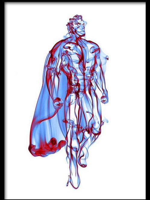 Smoke Portrait-Superman
