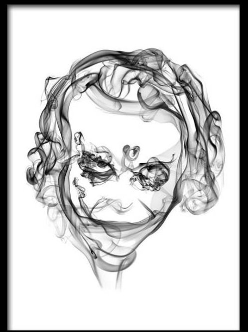 Smoke Portrait-Joker