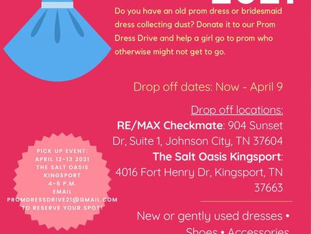 Prom Dress Drive 2021