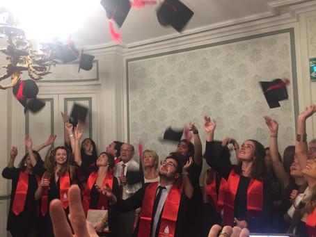 Remise de diplôme 2018