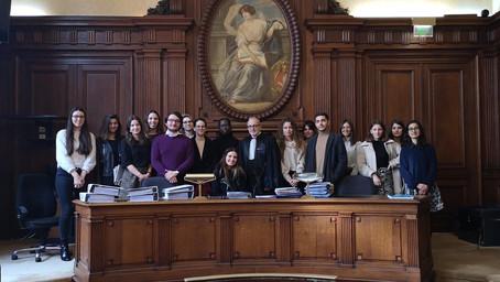 Rencontre à la chambre sociale de la Cour d'appel de Paris